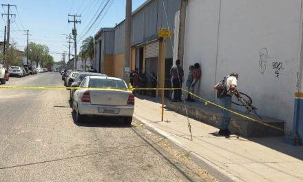 ¡Trabajador murió tras caerle en la cabeza un tanque de gas en una empresa en Ciudad Industrial en Aguascalientes!