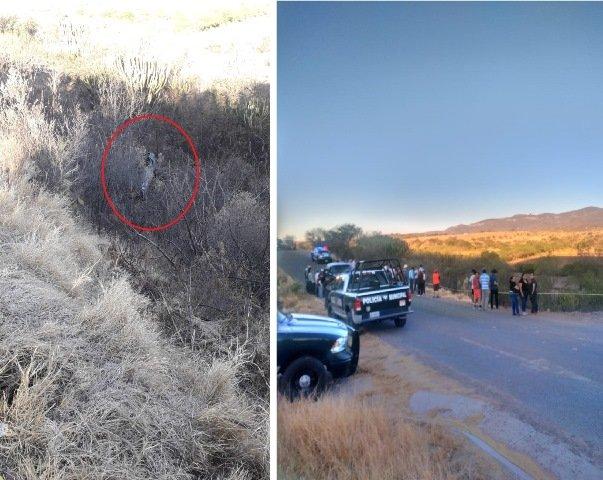 ¡Joven murió tras volcadura de su auto en Calvillo, Aguascalientes!