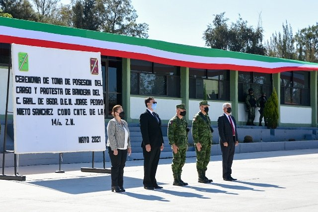 ¡Refrenda Municipio de Aguascalientes coordinación con el Ejército Mexicano!