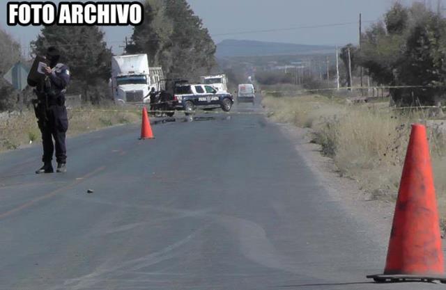 ¡Adolescente motociclista murió tras chocar contra un automóvil en Fresnillo!