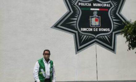 """¡Mejores sueldos para policías de Rincón de Romos y Cosío propone Martín Muñoz """"El Chino"""", candidato del Partido Verde a diputado local!"""