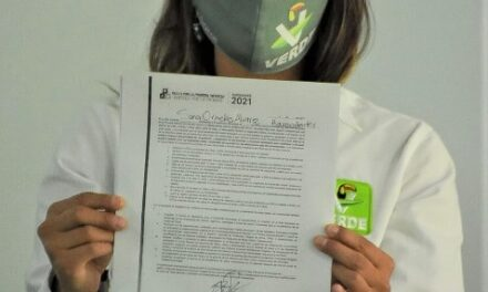 ¡Candidata a la Presidencia Municipal de Aguascalientes, Saraí Ornelas, firma Pacto por la Primera Infancia!