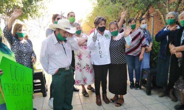 ¡Chilo Martínez basa su campaña verde en tres ejes: salud, seguridad y medio ambiente!