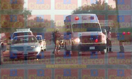 ¡Tráiler impactó y destrozó a una mujer motociclista en Lagos de Moreno!