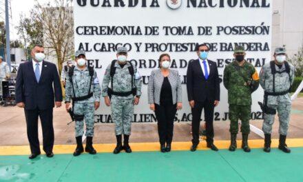 ¡Atestigua alcaldesa de Aguascalientes toma de protesta de nuevo coordinador estatal de la Guardia Nacional!