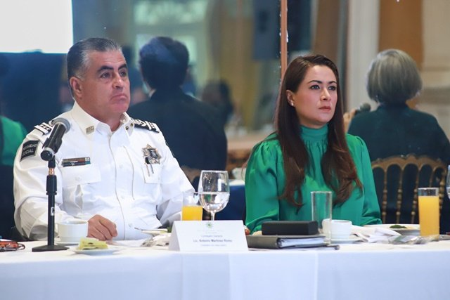 ¡Alcaldesa Tere Jiménez impulsa estrategia de seguridad ciudadana!