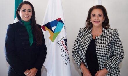 ¡Alcaldesa Tere Jiménez continuará trabajando en beneficio de la ciudadanía!