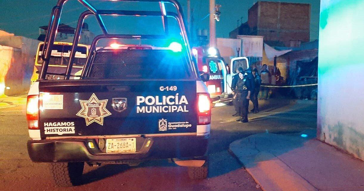 ¡Ejecutaron a un hombre e hirieron a otro en un domicilio en Guadalupe!