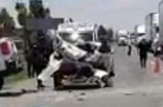 ¡Fatal carambola en Calera entre cuatro vehículos dejó saldo de un muerto y varios lesionados!