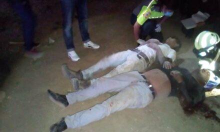 ¡Fuerte accidente en Aguascalientes dejó 2 lesionados de consideración!