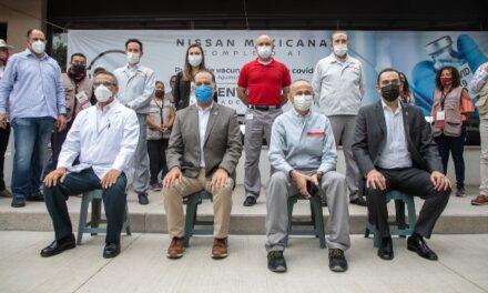 ¡Aguascalientes entre los pioneros de modelo de vacunación en empresas!