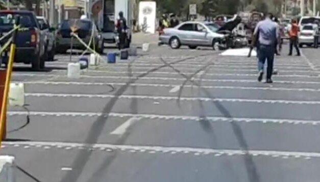 ¡Motociclista murió embestido por un auto en Calvillo, Aguascalientes!