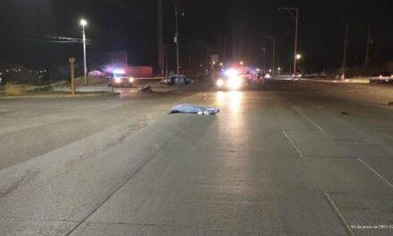 ¡Motociclista murió tras chocar de frente contra un automóvil en Aguascalientes!