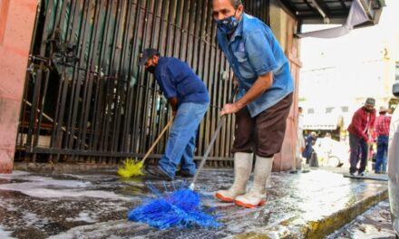 ¡Municipio de Aguascalientes da continuidad a las jornadas de limpieza en mercados!