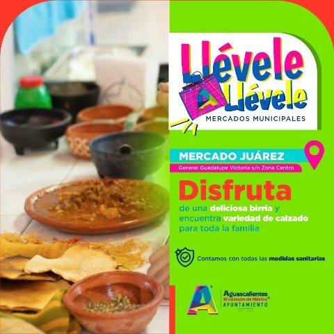 ¡El Mercado Juárez famoso en el municipio de Aguascalientes por su birria y huaraches artesanales!