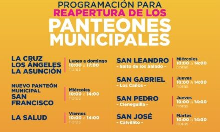¡Anuncia Servicios Públicos protocolo sanitario de reapertura de panteones municipales!