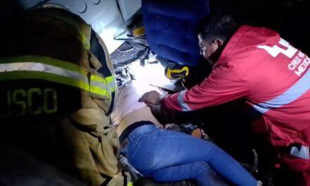 ¡Volcadura de autobús en Jalisco dejó 40 lesionados de Aguascalientes!