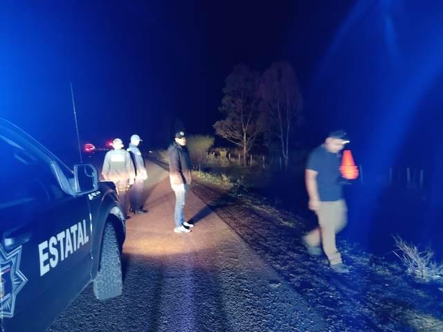 ¡Volcadura de un vehículo en Aguascalientes dejó una persona muerta!