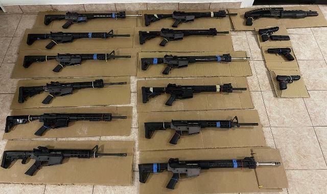 ¡En carreteras de Zacatecas, Guardia Nacional aseguró 23 armas, cargadores y cartuchos útiles!