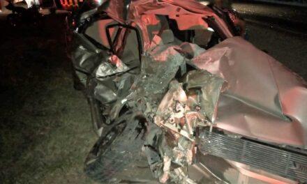 ¡Brutal choque entre un auto y un camión de transporte de personal dejó 42 lesionados en Lagos de Moreno!