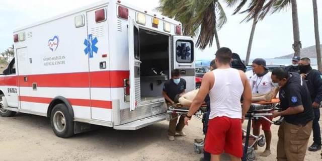¡Joven zacatecana murió ahogada en el mar de Mazatlán y su pareja está grave!