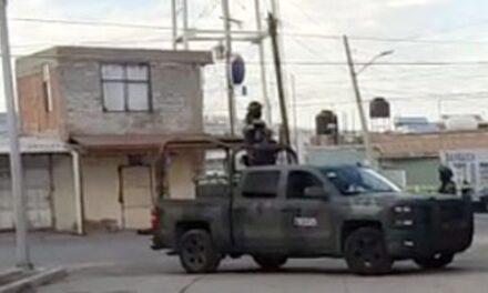 ¡Ejecutaron a una mujer con un rifle de asalto AR-15 en Fresnillo!