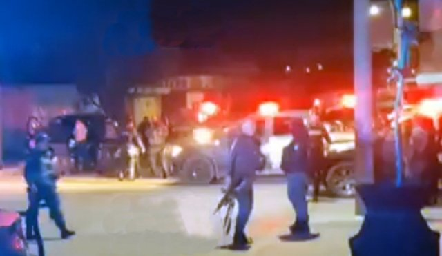 ¡2 oficiales de la METROPOL resultaron lesionados tras agresión en Fresnillo!
