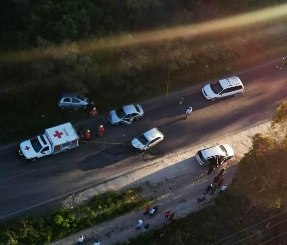 ¡1 niño muerto y 3 personas más lesionadas tras choque en Los Azulitos, Jalisco!