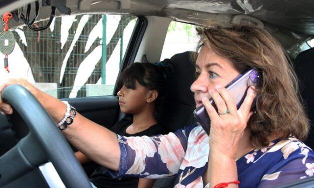 ¡Protección Civil Municipal hace un llamado a evitar distractores al conducir!