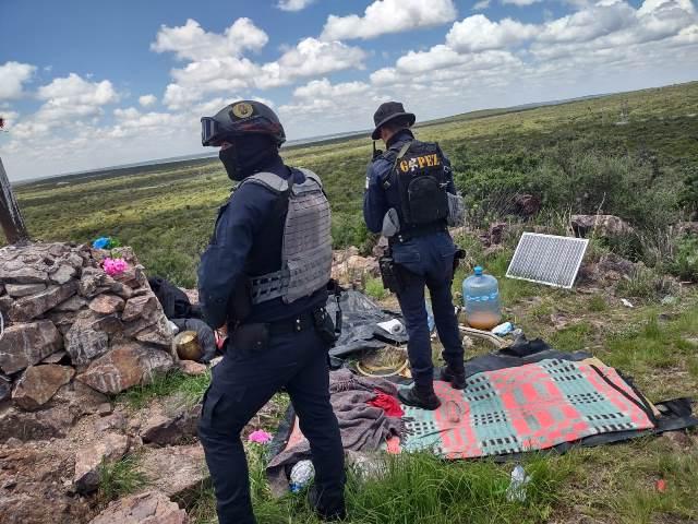 ¡SSP desmanteló un narco-campamento en Pánuco!