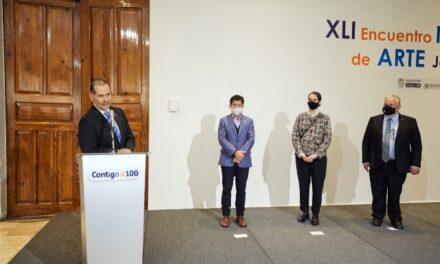 ¡Entregan premios del XLI Encuentro Nacional de Arte Joven!