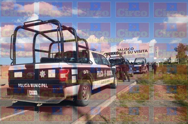 ¡Hallaron ejecutados a un hombre y a una mujer en la carretera a León en Lagos de Moreno!