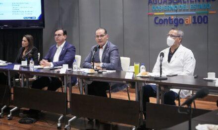 ¡Aguascalientes sumará esfuerzos con sectores para aplicación de vacuna contra coronavirus en personas mayores de 18 años!