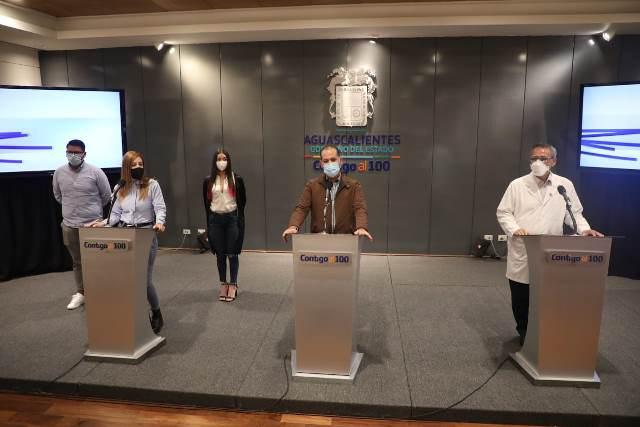 ¡Prepara Gobierno de Aguascalientes estrategia de concientización para que jóvenes se vacunen!