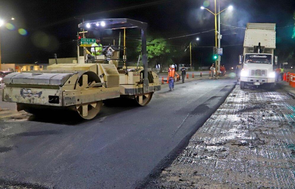 ¡Municipio llama a tomar precauciones por obras en bulevar a Zacatecas!