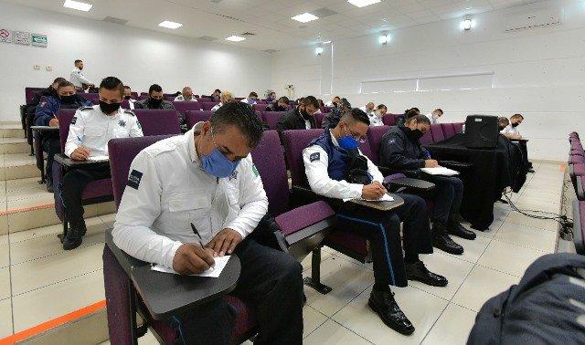 ¡Refuerzan formación de policías municipales de Aguascalientes!