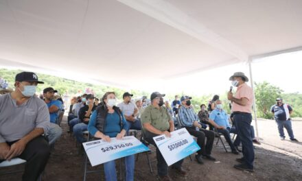 ¡Avanza Gobierno del Estado en la tecnificación de sistemas de riego en presas de Calvillo!