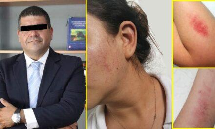 ¡Vincularon a proceso al comandante Luna de la SSPM que agredió a su pareja en Aguascalientes!