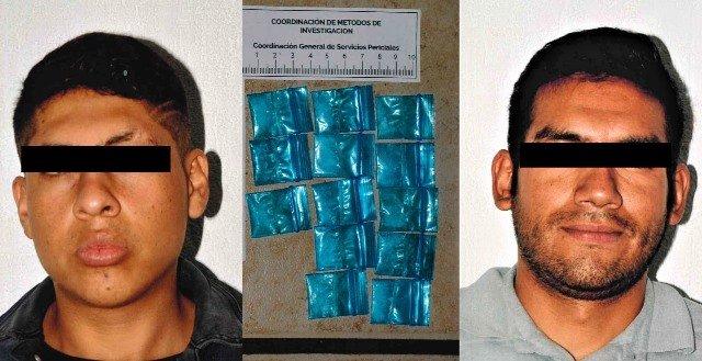 ¡Vincularon a proceso a dos sujetos detenidos con un arma de fuego y droga en La Chona!