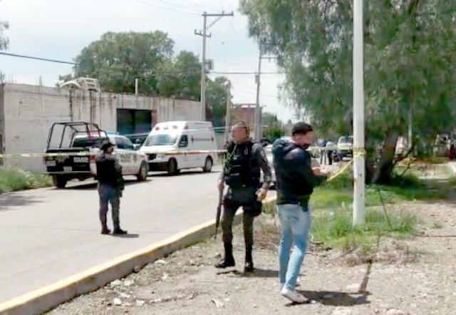 ¡Ejecutaron a un hombre e hirieron a otro en un yonke en Guadalupe!