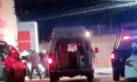¡Intentaron ejecutar a un hombre en su camioneta en la González Ortega en Fresnillo!