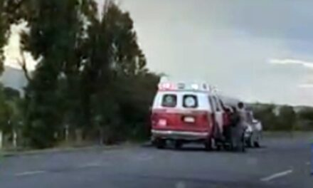¡Hombre fue agredido y herido en el cuello con un arma blanca en Fresnillo!