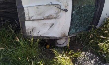 ¡Hombre murió tras volcadura de vehículo en Río Grande!