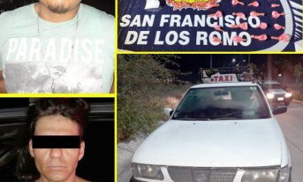 ¡Distribuidores de droga que circulaban en un taxi fueron capturados por la SSPE!