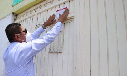 ¡Mantiene ISSEA supervisión de anexos; coloca sellos de suspensión en uno de Pabellón de Arteaga!
