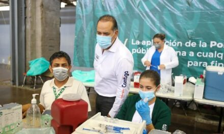 ¡Jóvenes de 18 a 29 años el grupo con mayor participación en las jornadas de aplicación de vacunas!