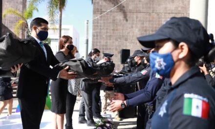 ¡Tere Jiménez posicionó a la Policía Municipal entre las mejores equipadas del país!