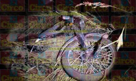 ¡Motociclista se mató tras accidentarse en Lagos de Moreno!