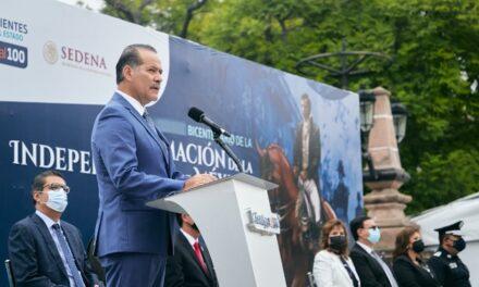 ¡A 200 años de libertad, soberanía e independencia llama gobernador a la unidad de México!