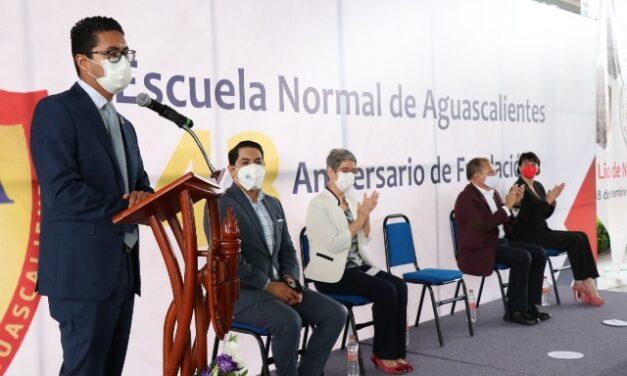 ¡Celebran 143 aniversario de la Escuela Normal de Aguascalientes!
